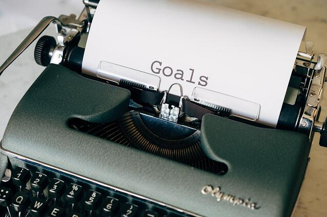 Why setting writing goals is important in the public sector and how you can set your own